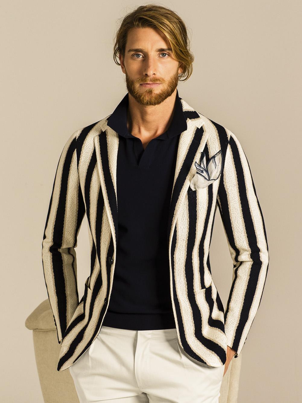 Torino torino estate Tagliatore giacca a primavera Abbigliamento righe wHawpPRqS