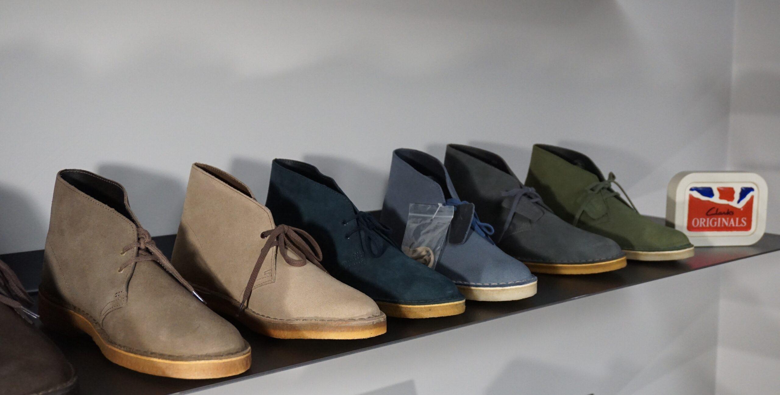 Desert Boot Clarks in nuovi colori ed in promo da Gino Baudino